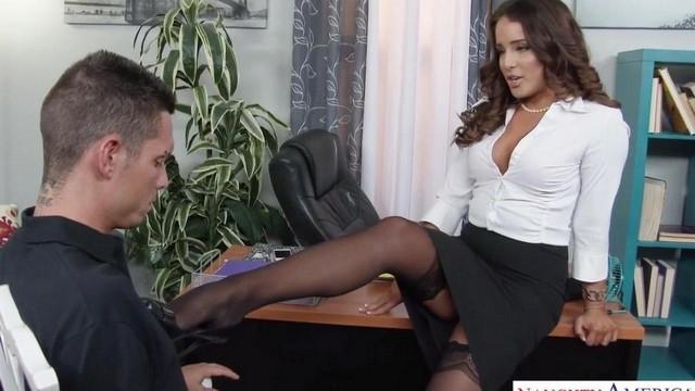 Порно Онлайн С Начальницей